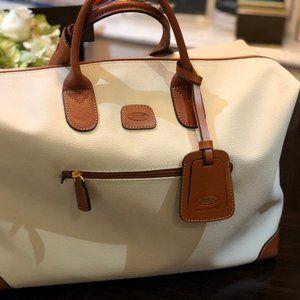 "Bric's Firenze 22"" Leather Duffel Bag (BRAND NEW)"